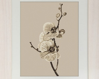 Orchid SB291 - Cross Stitch Kit by Luca-s