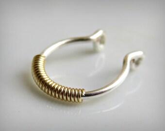 Fake Septum Ring Fake Septum Jewelry