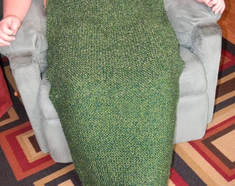 Knitted Wheel Chair Blanket-Forrest