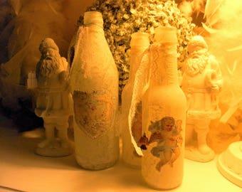Frosted bottle chromo shabby LCV *.