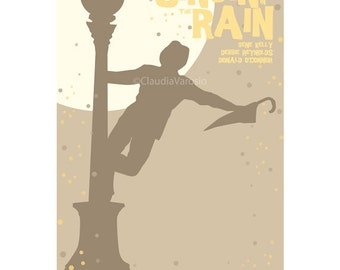 Singin' in the Rain movie poster in various sizes