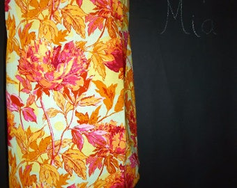 Sample SALE - Will fit Size S/M - Ready to MAIL - Patchwork Pencil SKIRT - Joel Dewberry - by Boutique Mia