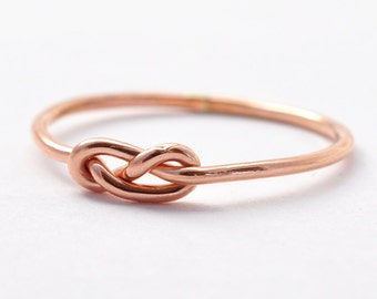 Rose Gold Infinity Ring: Graduation Gifts for Best Friends
