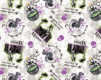 Disney Fabric Villains Patch Fabric From Springs Creative