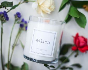 Signature ellion wood wick Candle