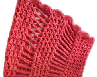 Hi-Lo Cowl - PDF Crochet Pattern - Instant Download