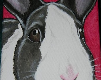 Gift Idea- Pet Painting Portrait Custom 5x7
