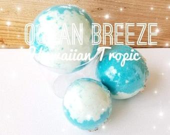 Ocean Breeze Bath Bomb,  Jade Bath Bomb Vegan Bath Bomb, Cruelty Free Bath Bomb, Spa Bath Bomb