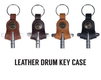 Leather Drum Key Holder- 4 colors
