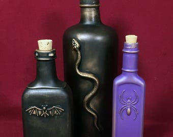 Apothecary bottles Group C