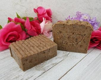 African Black Soap - Handmade Soap - Homemade Soap - All Natural Soap - Sensative Skin Soap - Oily Skin Soap Acne Soap