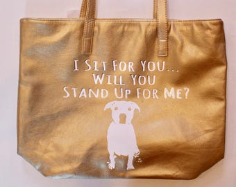 Stand Up For Pits Tote