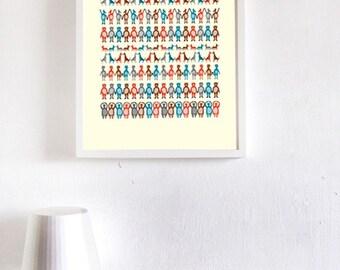 Animals Print - Different Sizes