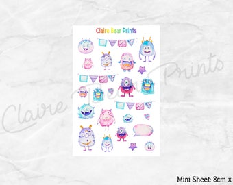 MONSTER Planner Stickers
