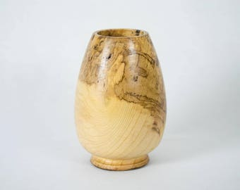 Handmade Wood Vase (made from Ash)
