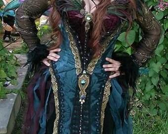 Dark fairy, witch, or Renaissance costume