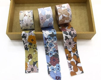4 cm Cotton Bias by the roll - Mayflower - 2 Colors - 10 Yards 81955