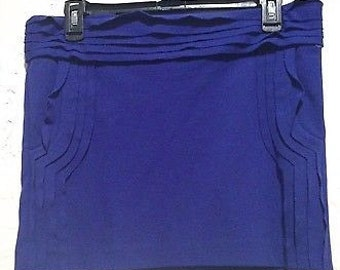 SALE: Diane Von Furstenberg Adorable Blue Skirt with Pockets