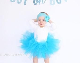 Boy oh Boy Glitter Banner : Baby Shower Baby Boy Pregnancy Announcement Gender Reveal Baby Boy Decoration It's a Boy