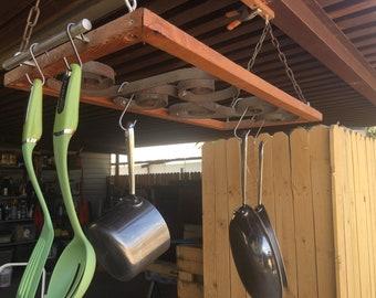 Hanging potrack