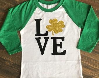 Love - St Patricks Day Shirt