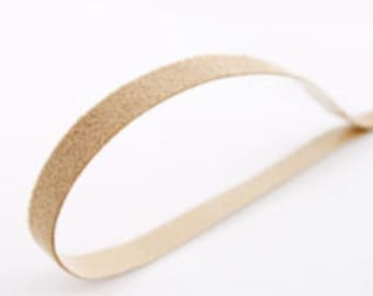 5Pieces - 7MM (2/8inch) Suede Headband Finished Sticker for professional finished