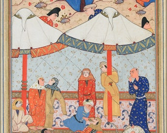 Poster, Many Sizes Available; Layla And Majnun Described In The Third Book Of Nizami'S Khamsah (