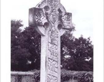 Celtic Cross Photo Note Card - Set of Four