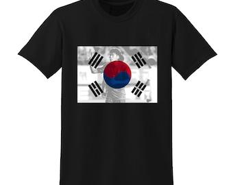 Russia World Cup 2018 Graphic Tshirt SOUTH KOREA Flag Football Team Soccer