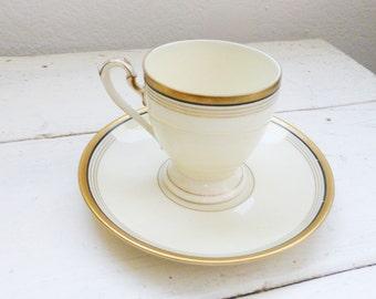 Eschenbach Bavaria Tea Cup, cute tea cup, china cup, small tea cup, fine china, gold rimmed, home decor, wedding gift, housewarming