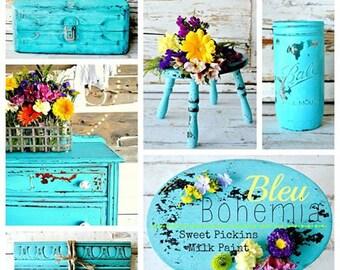 Blue Bohemia - Sweet Pickins Milk Paint Clearance