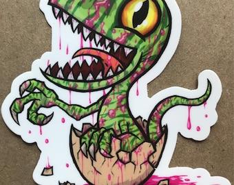 Baby Raptor Sticker