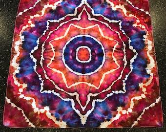 Tie dye tapestry - bandana
