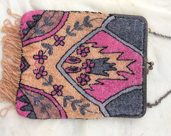 FANTASTIC GREAT GATSBY 1920s beaded purse