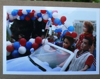 Yankee Doodle Parade note card
