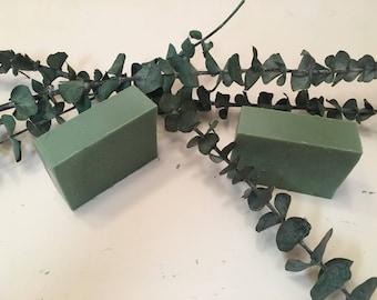 Eucalyptus Mint handmade soap FREE SHIPPING