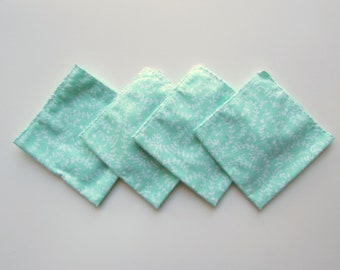 Cloth Wipes for baby / kids Cloth Diaper reusable Wipes flannel  kit of 4