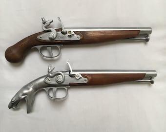 Flintlock Pistol, 3D Printed, Mechanised