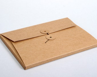 Japanese File Folder with pull-closure