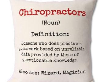 chiropractor gift,chiropractor cushion,chiropractor friend,chiropractors,chiropractor funny,occupation gift,work gift,chiropractic,cushions