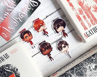The Four Londons Magnetic Bookmarks