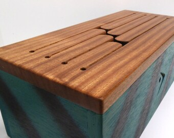 Economic blue green/black Tongue Drum, music box, African tongue drum, musical instrument