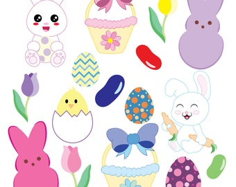 Easter Vector Clipart Holiday Clip Art