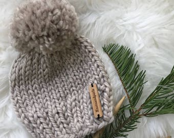 Single color beanie
