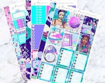 Space Girls: April Sub Essentials Sticker Kit
