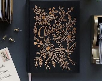 Raven Address Book by Rifle Paper Co