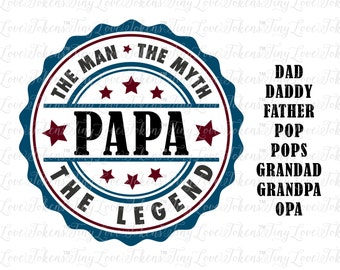Grandpa the legend etsy nz the legend design for silhouette and other craft cutters gdxf publicscrutiny Gallery
