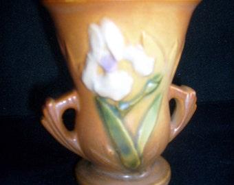 Roseville Iris - circa 1938 - PRICE INCLUDES SHIPPING