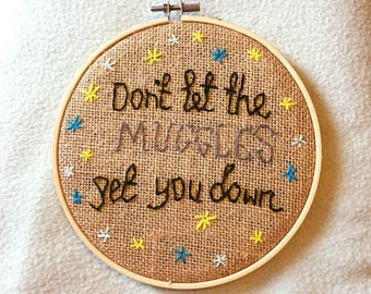 Harry Potter Handmade Embroidery Hoop
