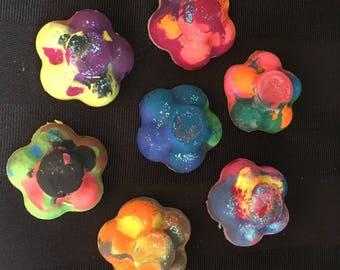 Rainbow Wax Crayons